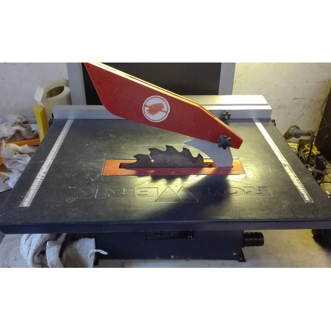 rotwerk table saw, design & craft, craft supplies & tools on carousell
