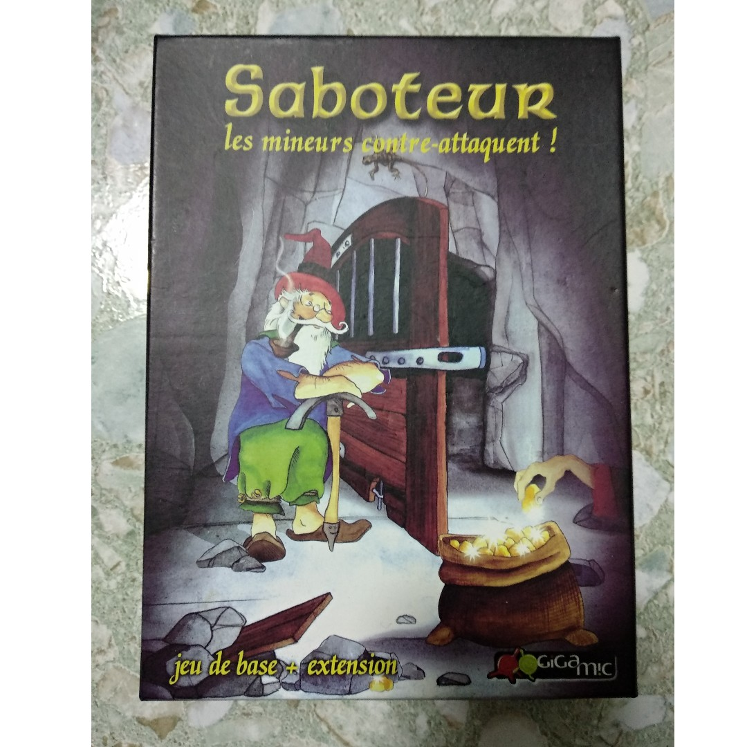 Saboteur Toys Games Board Games Cards On Carousell
