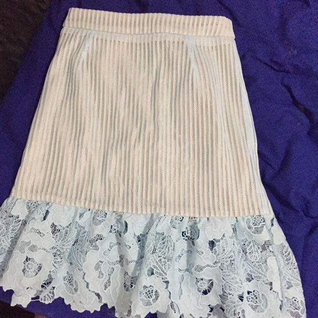 SEED mini skirt