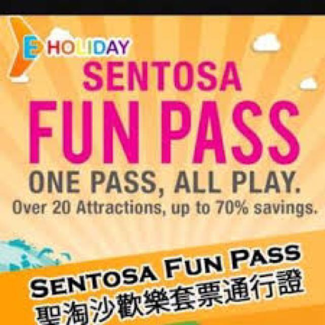 Sentosa FunPass Playmax 20 🇸🇬 Big Save