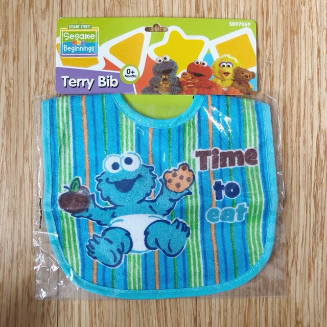 Sesame Street Terry Bib