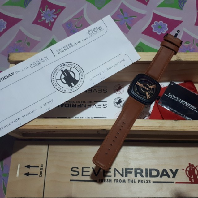 SEVEN FRIDAY WATCH BROWN