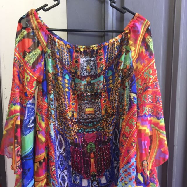 She & hers women's kaftan top
