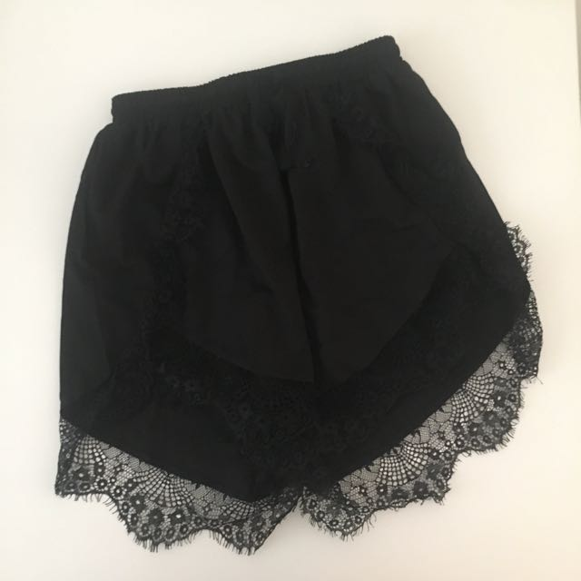 Showpo lace shorts