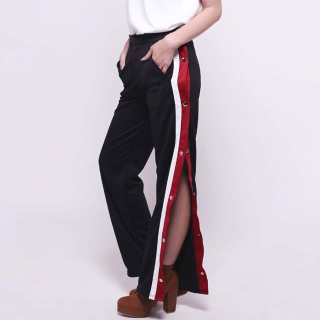 Slit Trouser / Tracklist Button Pants / Zara Pants
