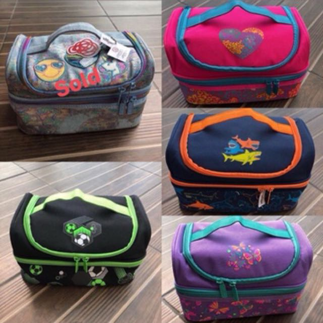 Smiggle lunch bag double decker SALE