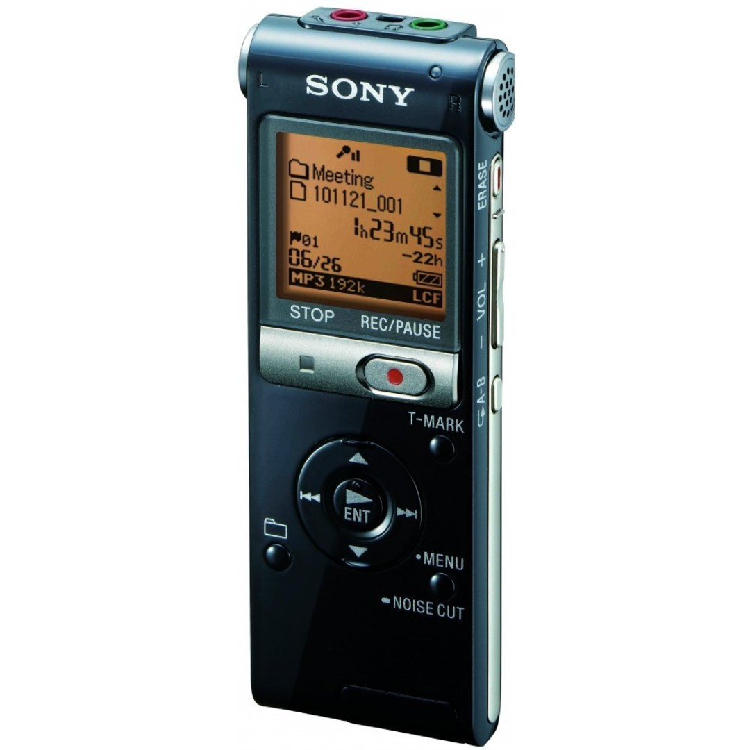 Sony ICD-UX512 2GB Expandable Digital Recorder with MP3 Capabilities - Black