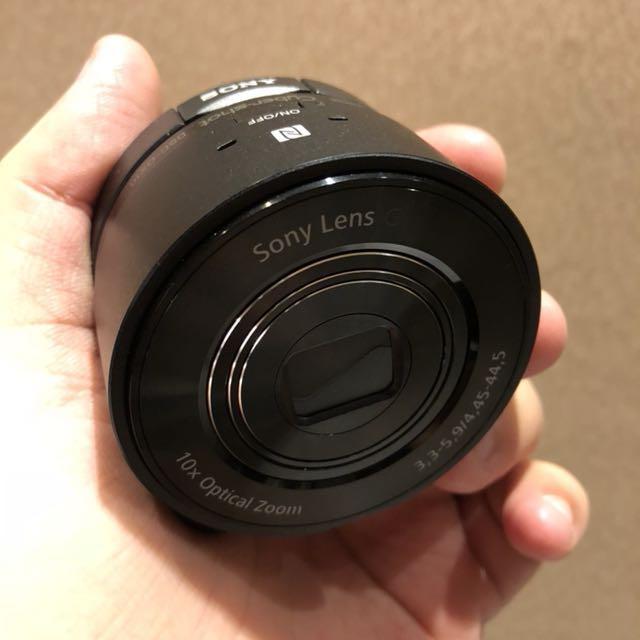 Sony QX10 QX-10 外接式數位相機 非QX100