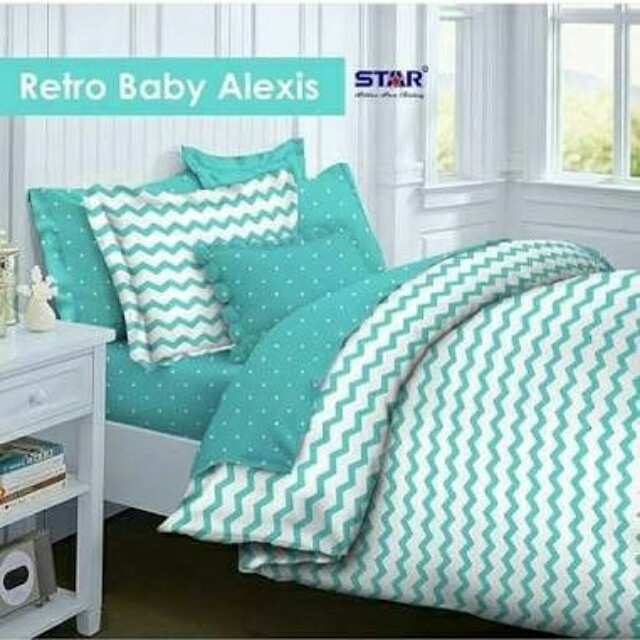 Sprei set & Bedcover Set Baby Retro mix Dotty