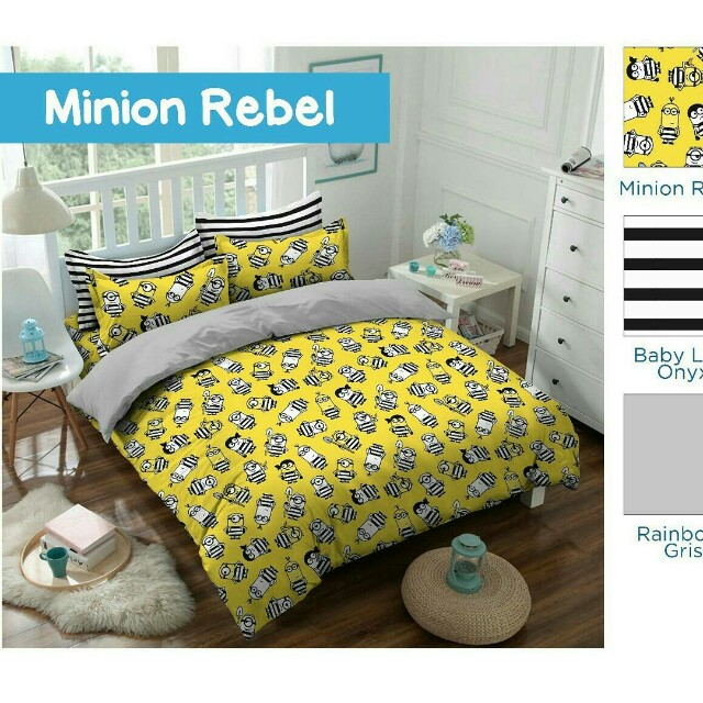 Sprei set & Bedcover set Minion