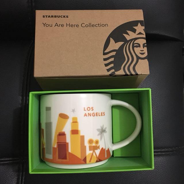 Starbucks YAH Mug Los Angeles with SKU