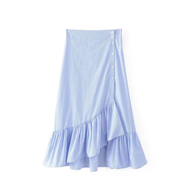 Striped Mermaid Skirt