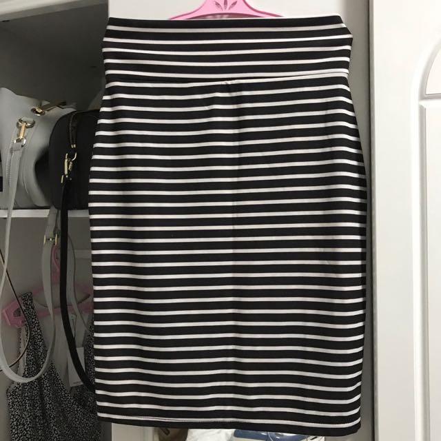 Stripes skirt from Japan