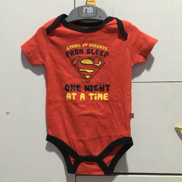 Superman Red Onesie