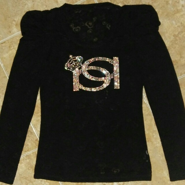 Sweater Type Blouse (Pre-loved)