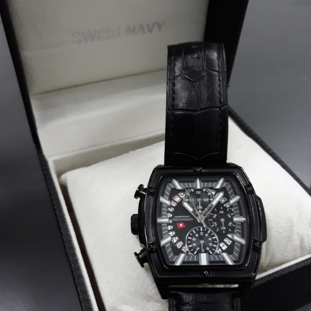 swiss army commando chronograph