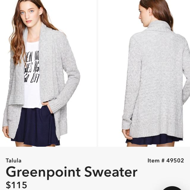 Talula Greenpoint Sweater S
