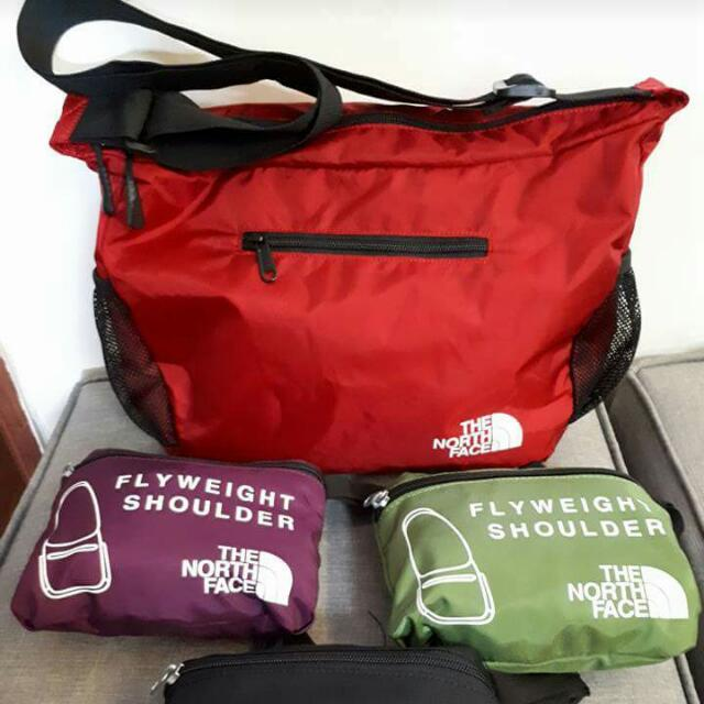 The North Face Foldable Sling bag