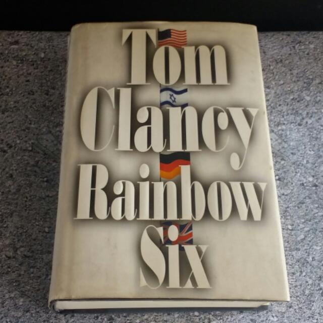 Tom Clancy Rainbow Six 2Hard Cover Book With Dust Jacket
