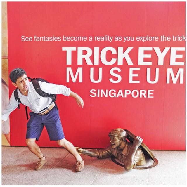 TRICK EYE MUSUEM SINGAPORE