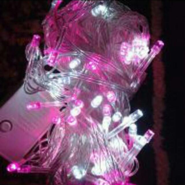 Tumblr lamp pink-white