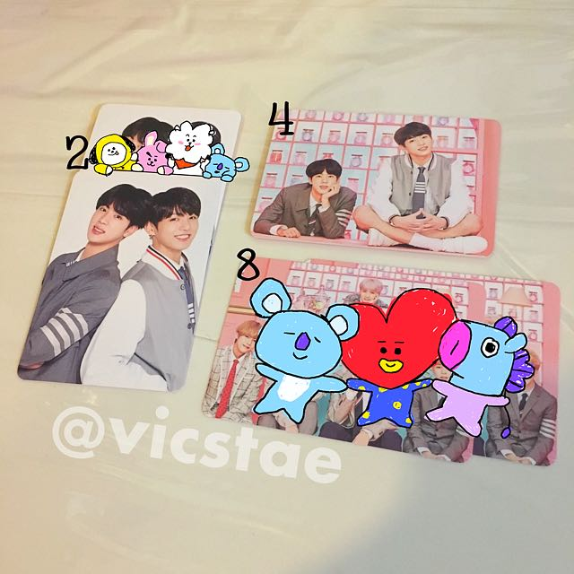 UNIT / MINI PHOTOCARDS / BTS 4TH MUSTER HAPPY EVER AFTER