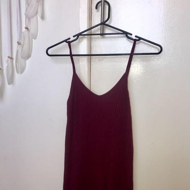 Universal Store Maroon Dress Size 12