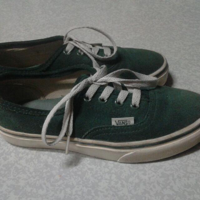 Vans Authentic suede(dark green) d8b52aa28