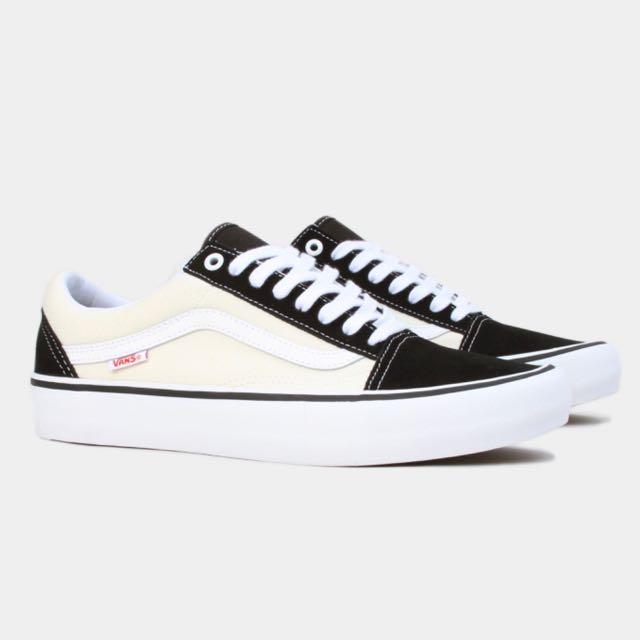 Vans Old Skool Pro Black \u0026 White, Women