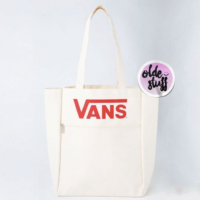 Vans X Kastane canvas tote bag