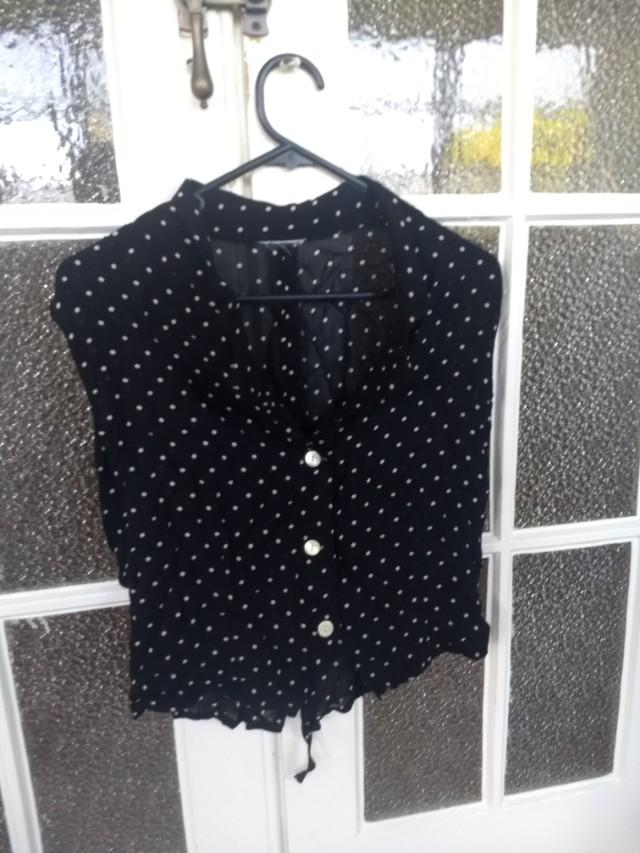 Vintage Polka dot shirt