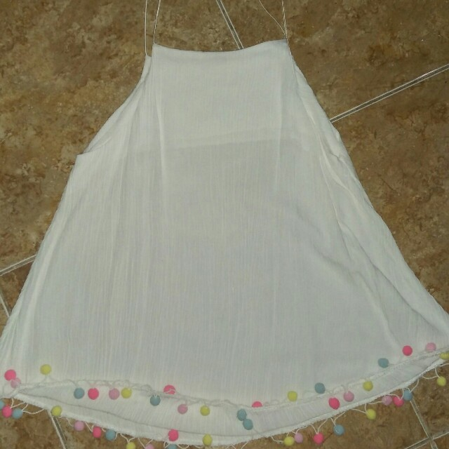 White Sleeveless Top (Pre-loved)