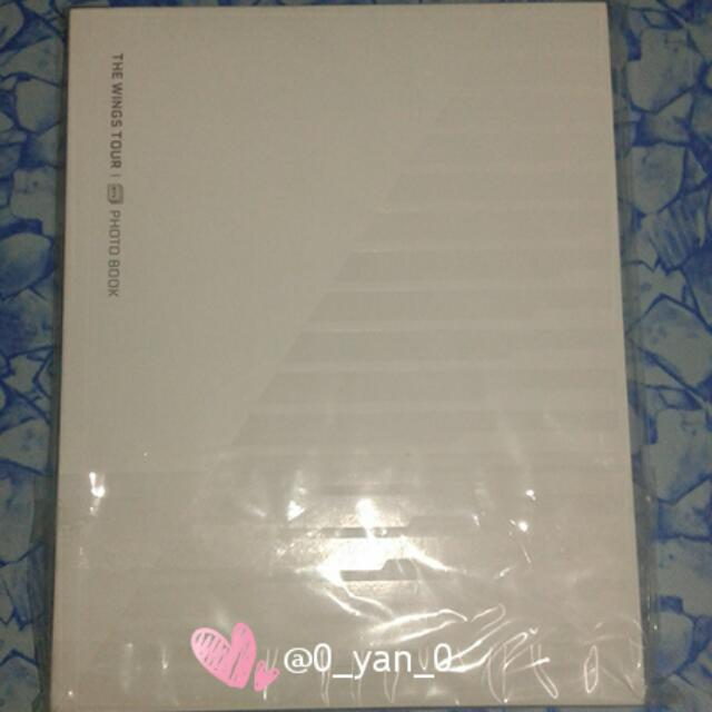 [WTS Only] BTS Wings Tour Face Photo Collection Book