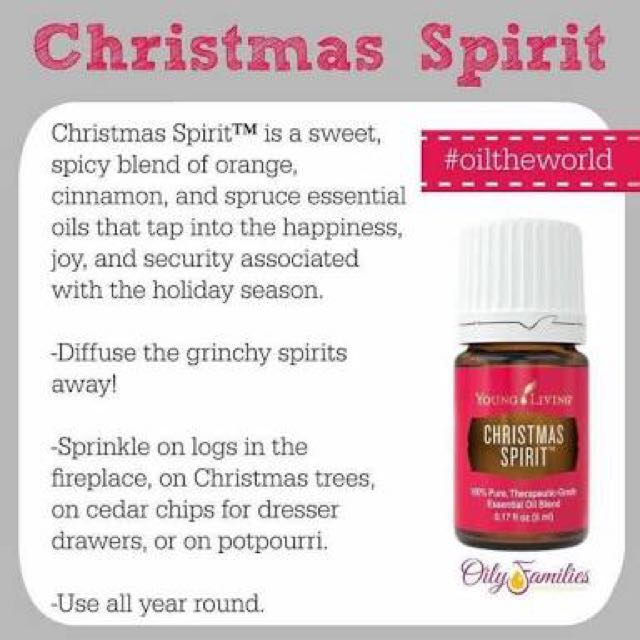 Young Living Christmas Spirit Essential Oil 5ml Sealed