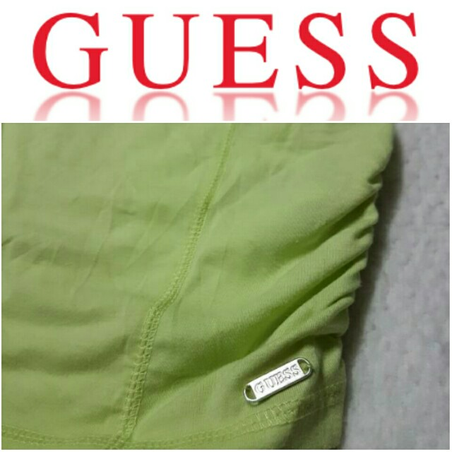 -Yunik- Authentic GUESS Ruched Sides Tee