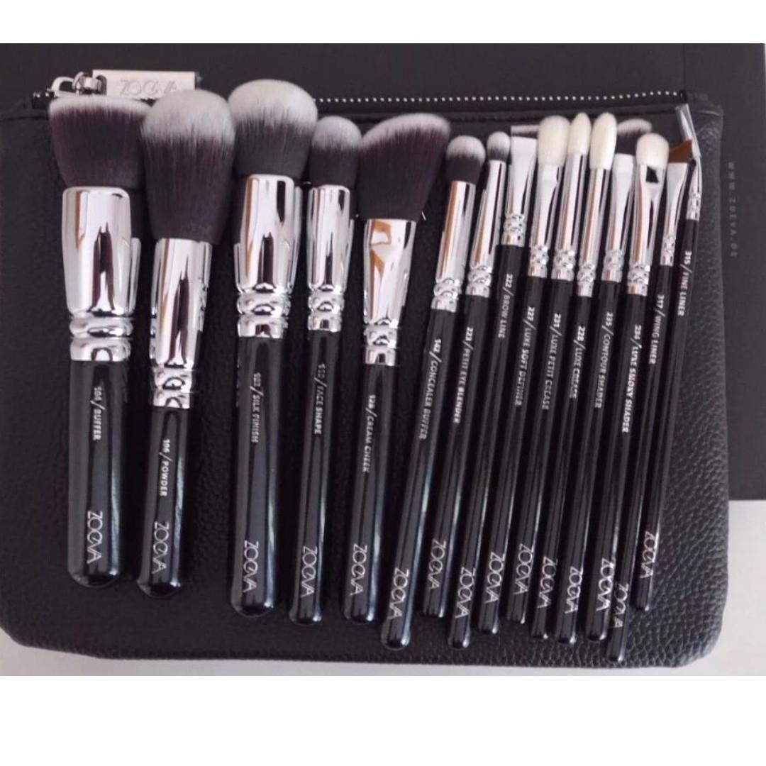 Zoeva 15pc brush set+Bag Complete brush set