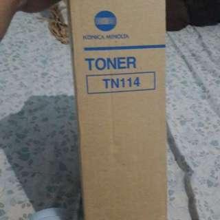 Toner mesin foto copy minolta type BIZHUB 211