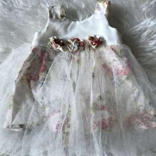 Tutu Gown For 6 to 12 mos Used once for my baby's baptism