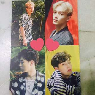 SUM EXO OFFICIAL POSTCARDS