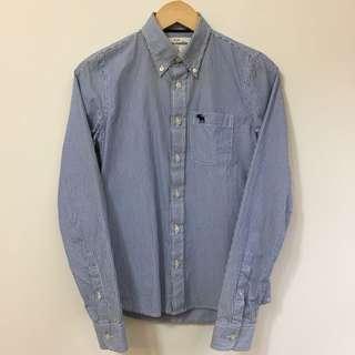 Abercrombie 條紋襯衫 KIDS XL
