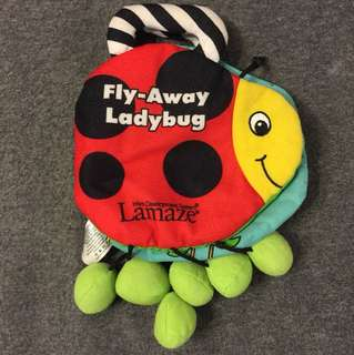 Fly-Away Ladybug cloth book