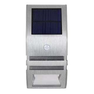 Set of 4 LED Solar Sensor Outdoor Light