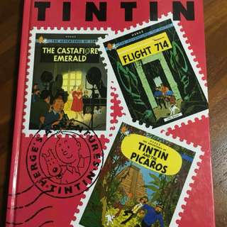 The Adventures Of TINTIN (Printed in Spain)