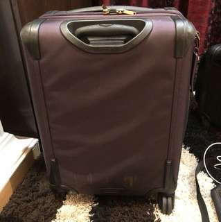 Tumi Alpha 2 Aubergine International Expandable 4-Wheel Carry-On