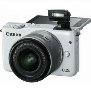 Canon EOS M10 Kit 15-45mm Kredit Cepat Tanpa CC