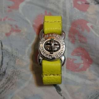 MARC BY MARC JACOBS turnlock leather bracelet