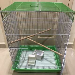 Used bird cage for sale - L45 x W33 x H61cm