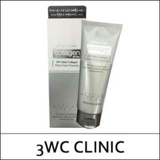 PREORDER 3W Clinic Charcoal Foam Cleansing