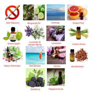 ESSENTIAL OILS - 15ml►FOR DIFFUSERS / HUMIDIFIERS / NEUBULIZER / AIR PURIFIER