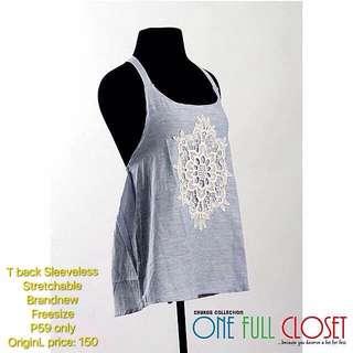 T back sleeveless